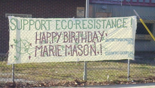 Solidarity With Marie In North Carolina