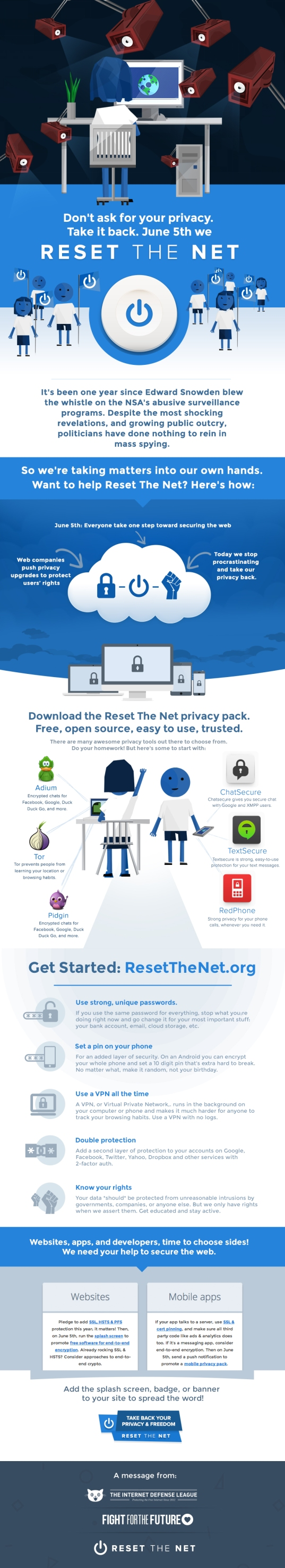Reset The Net: Protect Yourself from the NSA